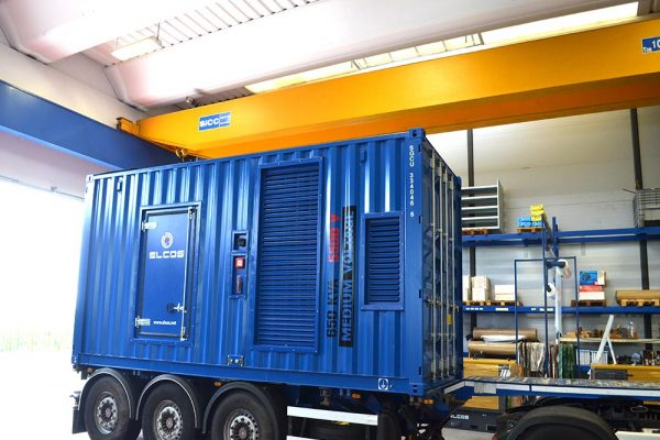 RINA GMV 650 kVA 5500V container with integrated switch