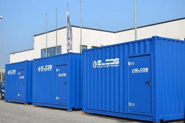3 UNITS 300 kVA in a 55 dBA container