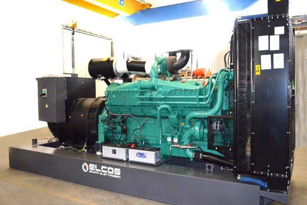 GE BF da 1000 KVA Custom con serbatoio 3000 lt integrato