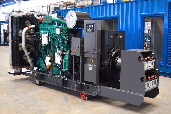 GE BF da 800 KVA con doppio sistema di batteria ridondante automatico