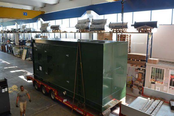 GS SS 1500 KVA 68 dBA Custom