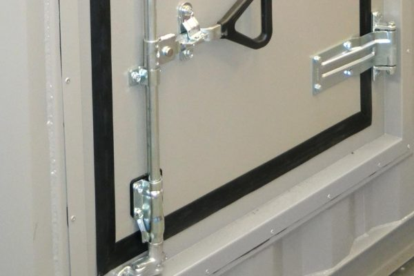 guarantee security against vandals and help to manage the gasket