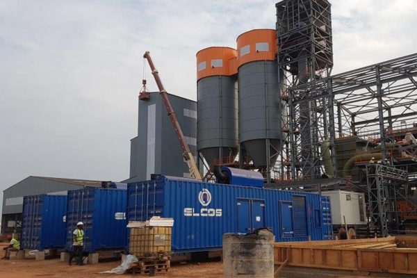 SOUTH AFRICA POWER PLANT 3 X GENSETS IN CONTAINER