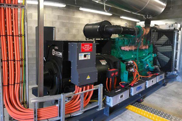 AUSTRALIA 2 X BASE FRAME 825/750 kVA