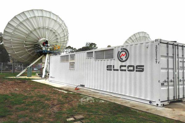 AUSTRALIA SATELLITE RECEIVER 2 X GENSETS IN CONTAINER 275/250 kVA