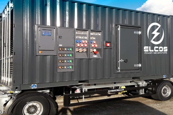 15 sockets mobile 20' HC container