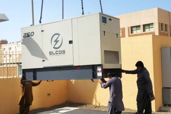 Elcos' power generator in Saudi Arabia hospital