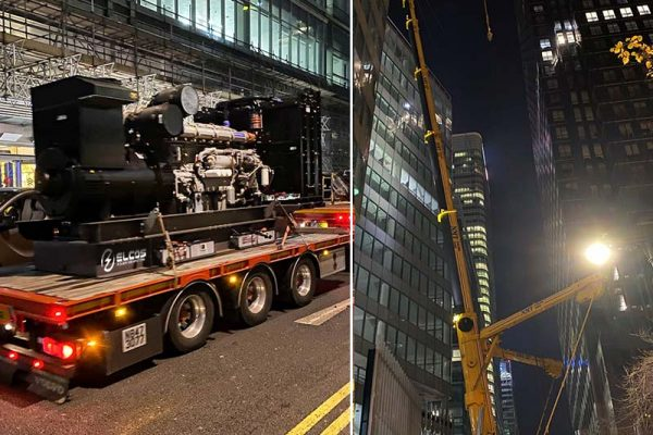 Elcos power generators_Canary Wharf_IG